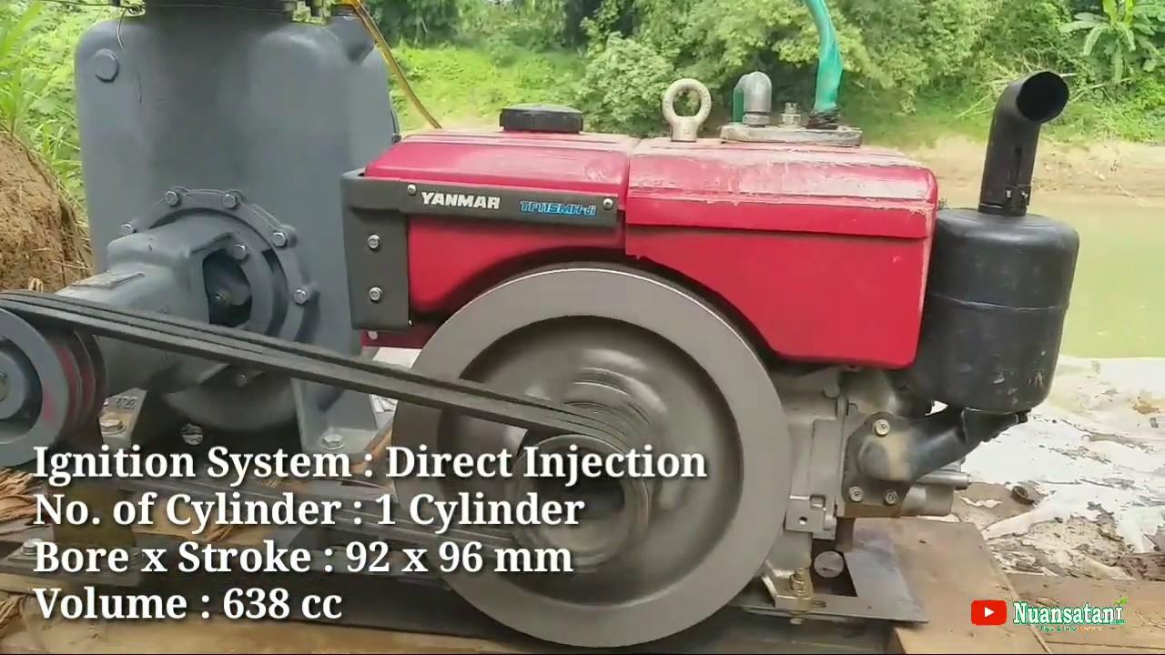 Pompa Air Ebara Pump 6 Inch | Diesel Yanmar TF 115MH - DI ...