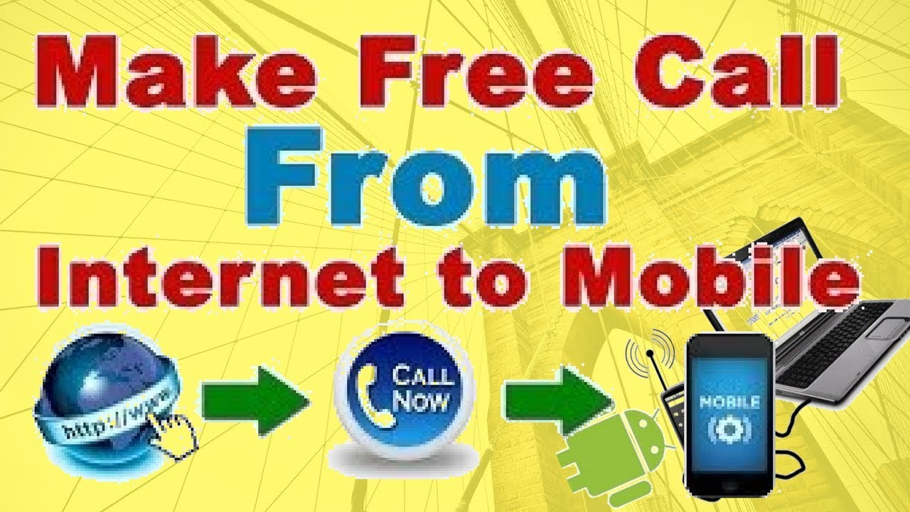 free phone calls online to mobile