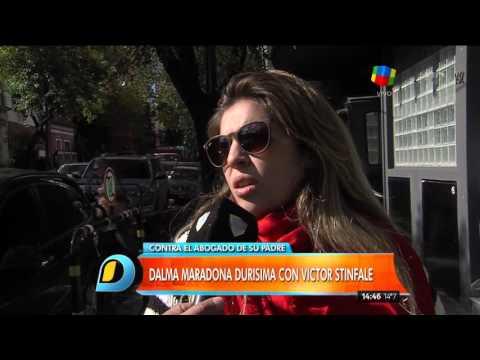 Dalma aprovechó y vinculó a los abogados de su papá con la fiesta de Costa Salguero