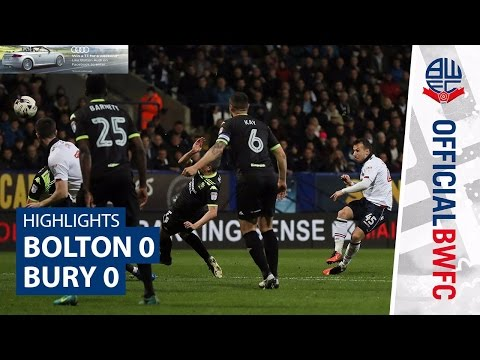 HIGHLIGHTS   Bolton 0-0 Bury