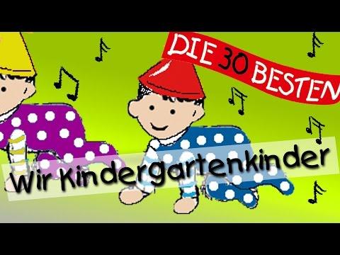 Wir Kindergartenkinder - Die besten Kindergartenlieder || Kinderlieder