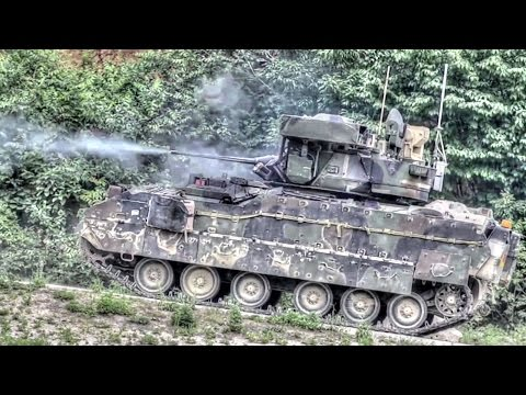 US Army Gunnery Operations In South Korea
