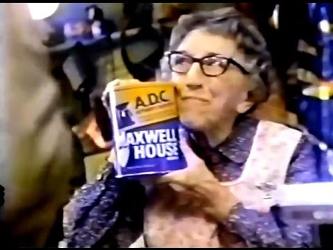 Maxwell House 'A.D.C.' Coffee Commercial (1978)