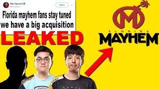 Leaking Florida Mayhem BIG ACQUISITION 3 New Players! Seoul Dynasty Trade Xepher To Florida Mayhem!