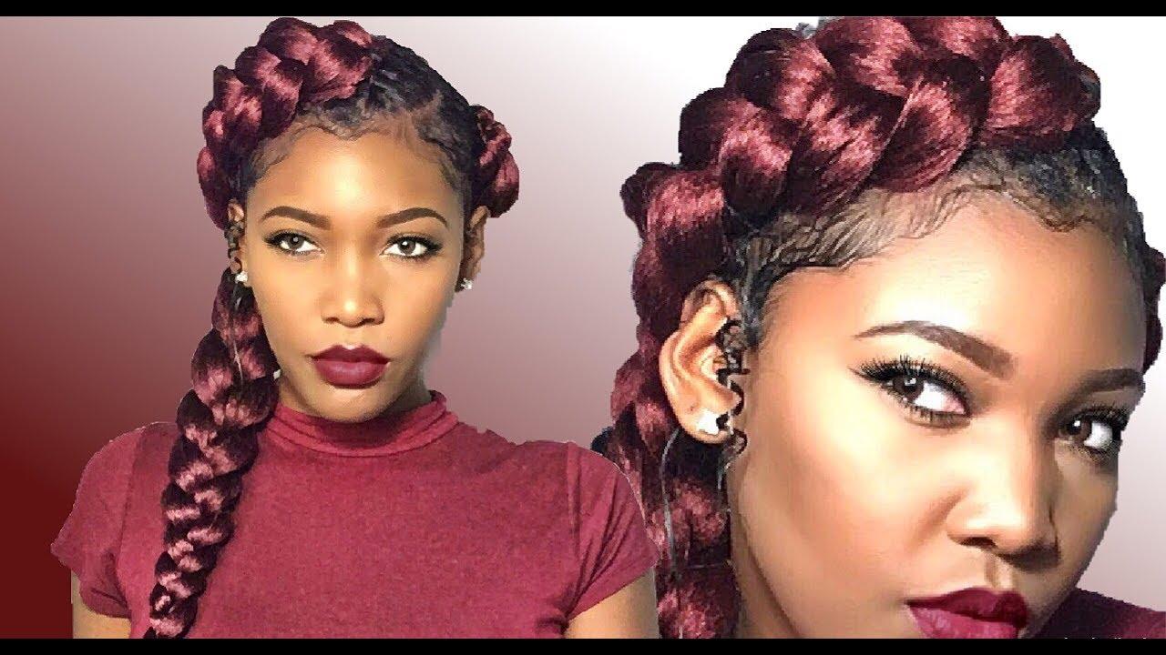 how to: diy mermaid butterfly braid 🦋 natural hair/london tayy