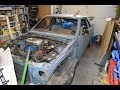 1982 Ford EXP Stripped Down
