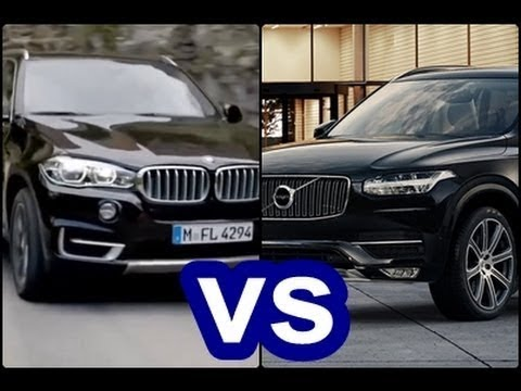 All New Bmw X5 Vs Volvo Xc90 2018 Youtube