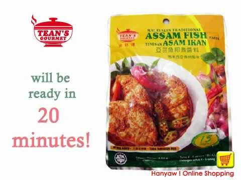 Online Shopping For Malaysian Traditional Assam Fish Paste | Hanyaw ! Online Shopping