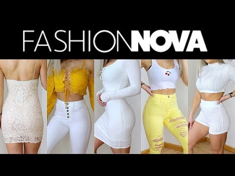 FASHION NOVA TRY ON | wow wow wow | Valerie pac