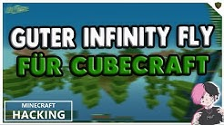 NEUER GUTER INFINITY FLY FÜR CUBECRAFT! NEUER MINECRAFT HACK CLIENT » Minecraft Lets Hack #15