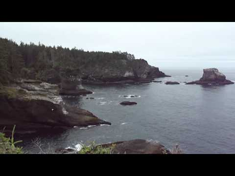 Video of spectacular Cape Flattery in Indian country on Washington Pacific Coast