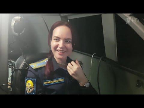 Девушки-курсанты Краснодарского военного училища провели свои первые учебные полеты.