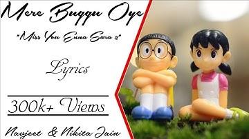 """Mere Buggu Oye """"Miss You Enna Sara 2"""" Lyrics  • Navjeet • Nikita Jain • Jaymeet • Viral Punjabi Song"""