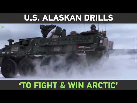 US forces staging biggest drills in Alaska in three decades as battle for Arctic dominance continues