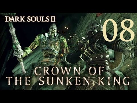 Dark Souls 2 Crown of the Sunken King - Gameplay Walkthrough Part 8: Dragon's Rest