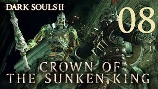 Dark Souls 2 Crown of the Sunken King - Gameplay Walkthrough Part 8: Dragon