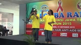 Lomba RAP BKKBN Jawa Tengah 31 Oktober 2015, Bintangtamu4