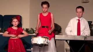 Emmanuel Baptist Church Christmas w/ Parenti Family - Little Drummer Boy