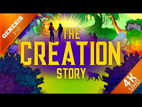 Creation - Genesis 1 & 2 | Animated Sunday School Lesson and Bible Story for Kids | 4K Remastered