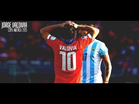 Jorge Valdivia - Copa América 2015 - Pass, Skills, Vision.