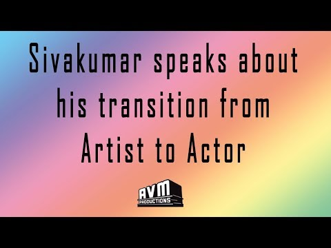 Sivakumar Speaks about his Transition from Artist to Actor (Painting Artist இருந்த நடிக்க வந்தது)