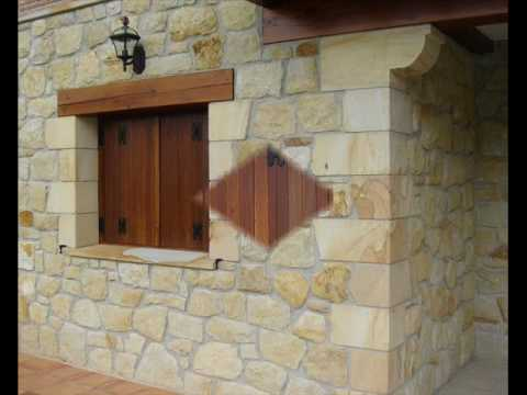 Casas de piedra arenisca youtube for Casa de piedra