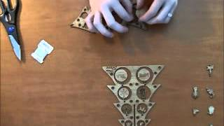 Laser Cut Christmas Tree Assembly