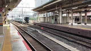 JR東日本 特急踊り子 E257系 東京駅到着