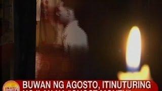 UB: Buwan ng Agosto, itinuturing ng ilan na