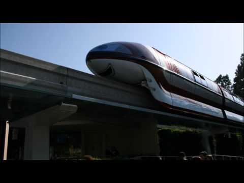 Disneyland Tommorrowland (Monorail Song 2003)