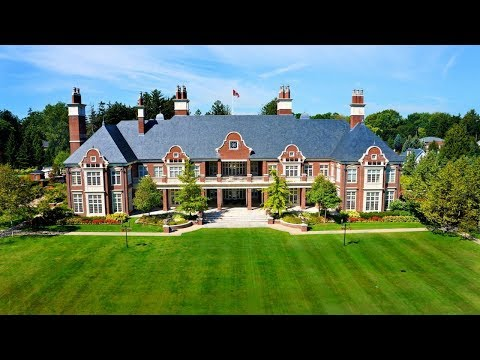 $49 Million Dream Home in Canada  | the Legendary 'chelster Hall' Mansion
