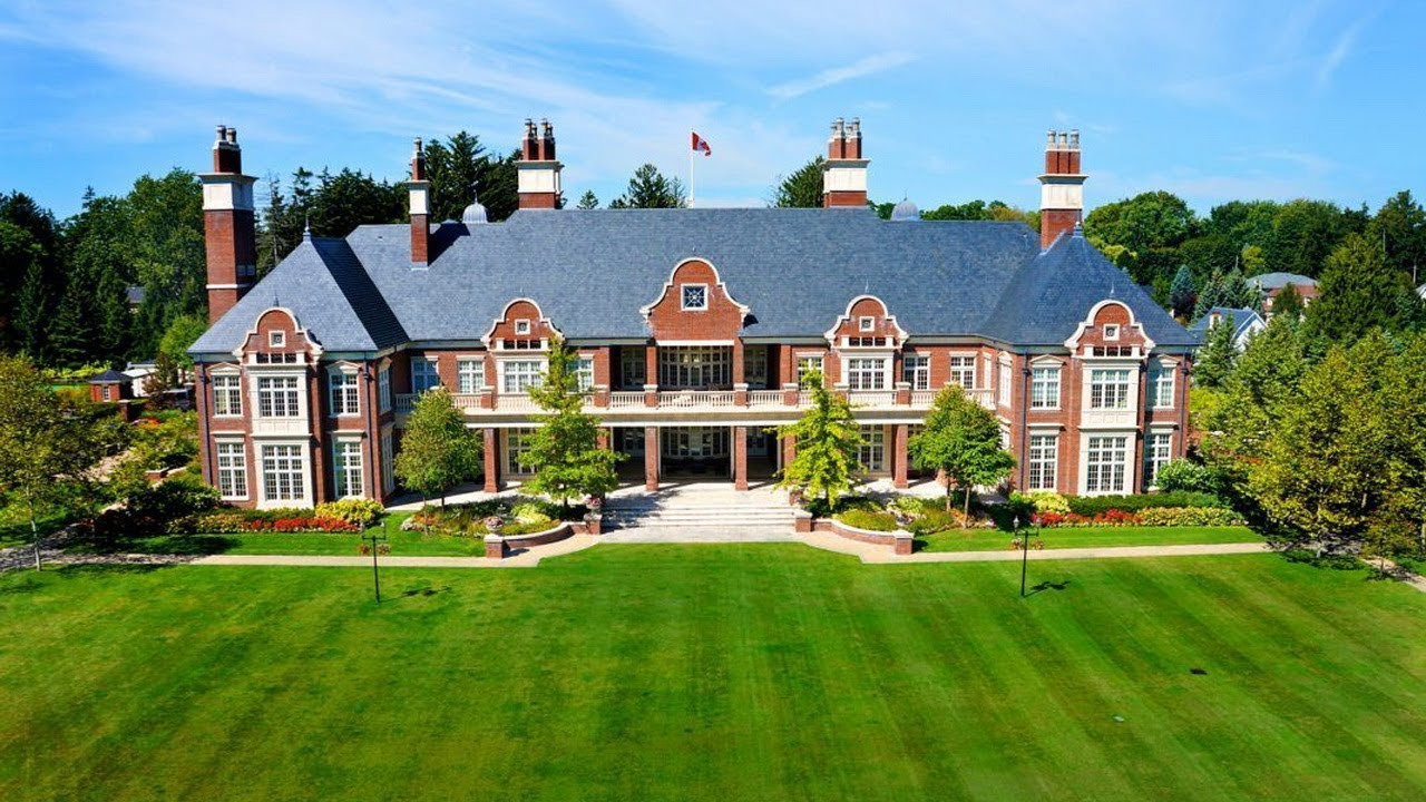 49 million dream home in canada the legendary chelster hall mansion youtube. Black Bedroom Furniture Sets. Home Design Ideas