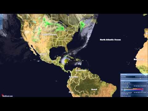 Hurricane Rina Cat 2 Strengthening In The Caribbean