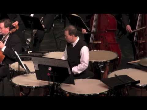 "Timpani Concerto ""Raise the Roof"" by Michael Daugherty"