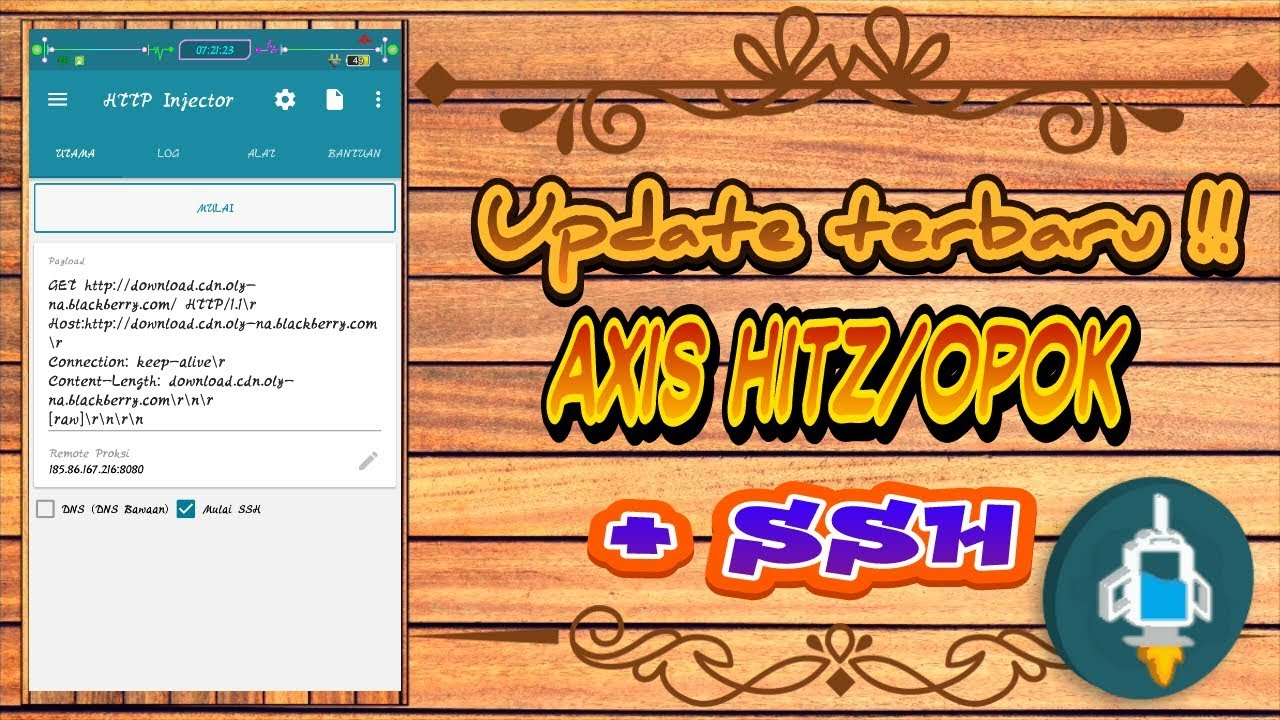Update Config Axis Hitz 2gb Ssh Youtube