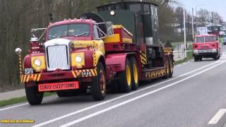 Oldtimer Trucks toerrit by Elburg - Oldtimer truck Tourrit 2015