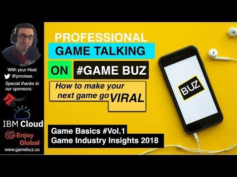 #GameBasics 1: Global Market - Game Industry Insights 2018 | Game Revenue Per Segment