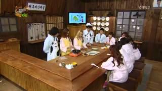 Yoona Hyoyeon Cooking 아이카레보이 Kimbab+curry Igab Jan 17 2013 Girls #39 Generation   Youtube