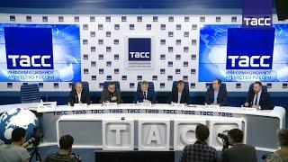 Пресс конференция, посвященная Московскому культурному форуму