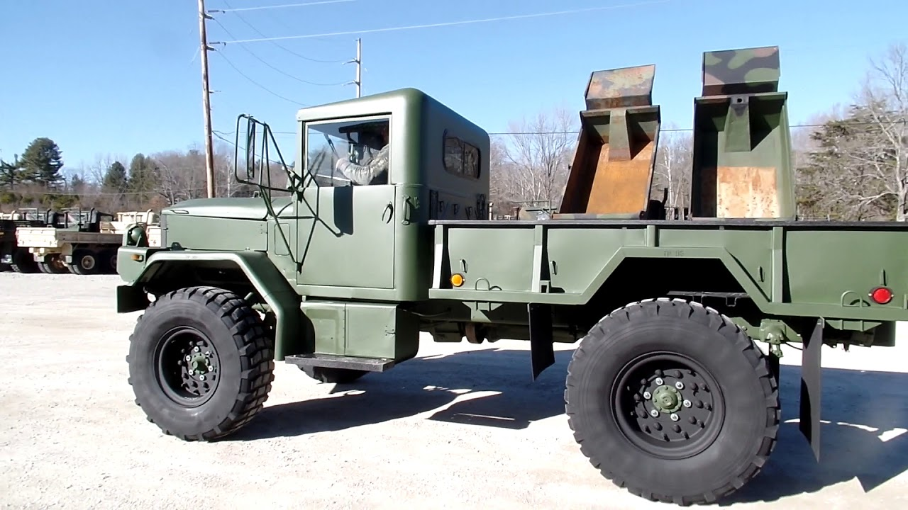 Bobbed M35a3 C C Equipment Clean Truck 4x4 Youtube
