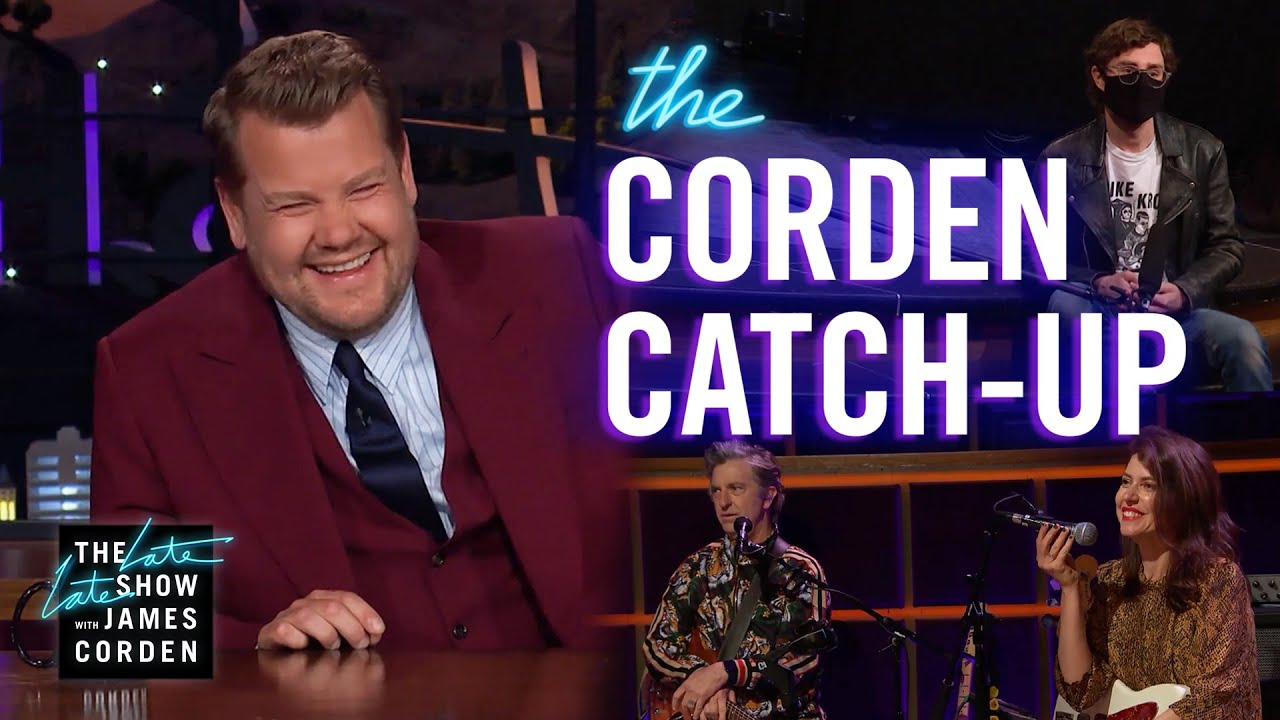 James is NOT Fit for Burning Man - Corden Catch-Up