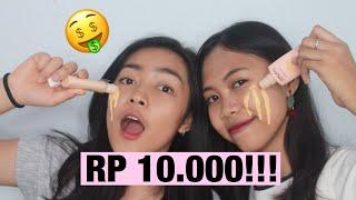 Nyobain Foundation DIBAWAH Rp 10.000!!!