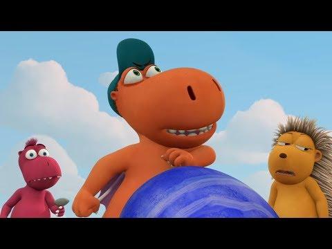 Детские мультики - Кокоша, Маленький Дракон - Счастливый камень - Серия 26