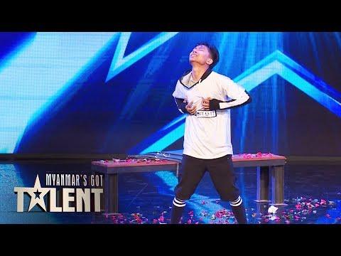 Aung Sat Paing: Auditions | Myanmar's Got Talent 2018