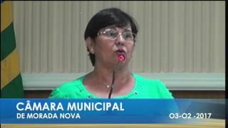 SANDRA BESSA PRONUNCIAMENTO  03 02 2017