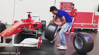 Abu Dhabi Visit | Ferrari World, Abu Dhabi, UAE | Tire Changing Experience | Travel Vlogs