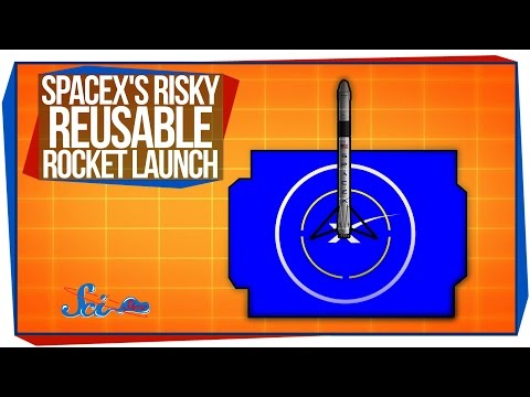 SpaceX's Risky Reusable Rocket Launch