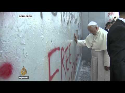 Pope Makes Surprise Visit To Bethlehem