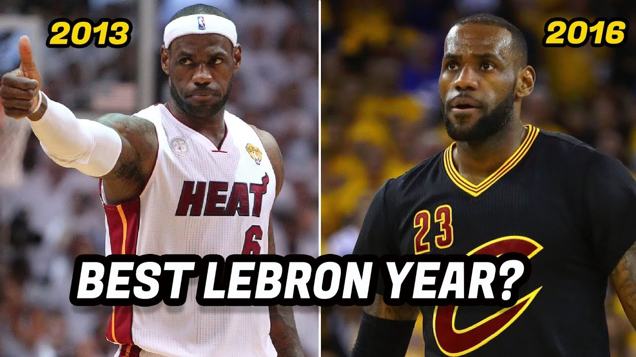 4608e1330adf What Year Was LeBron James the Best Version of LeBron  - YouTube