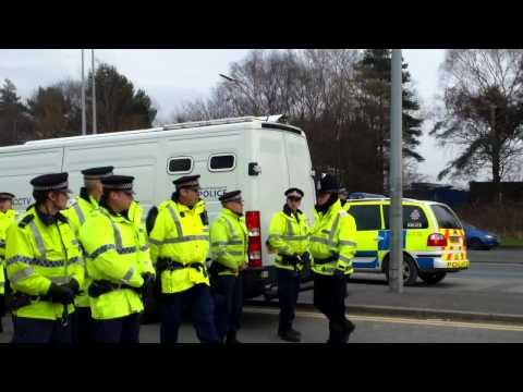 27th March 2014 After Assistant Chief Constable and IPPC on site in morning, afternoon arrests